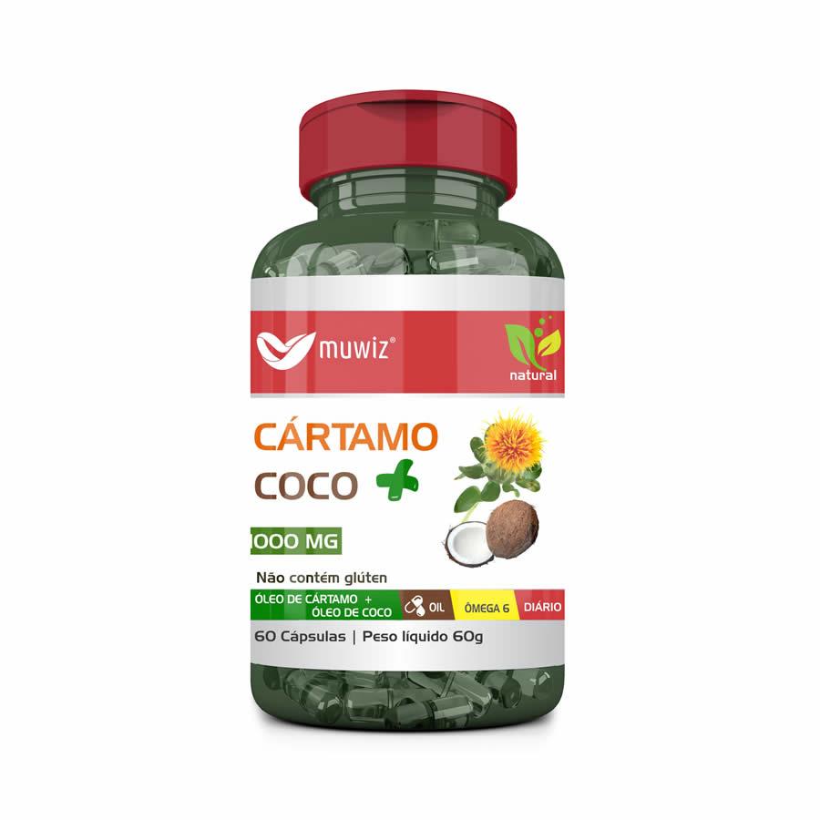 Óleo de Cártamo com Coco
