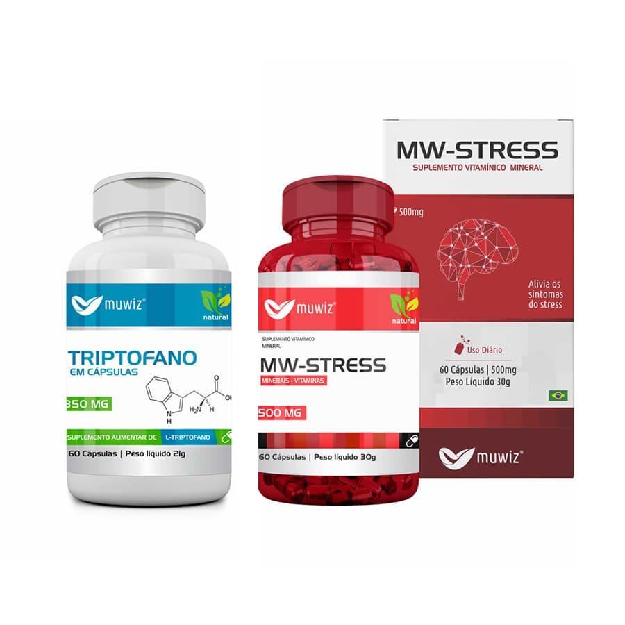 Combo MW STRESS + TRIPTOFANO